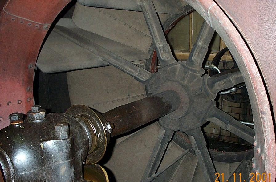Shaft Driven Ceiling Fan : M t i b